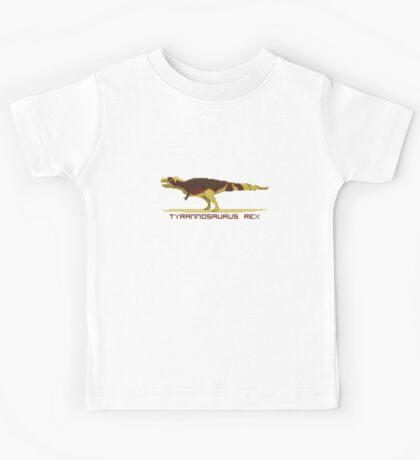 Pixel Tyrannosaurus Kids Clothes