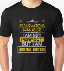 reservations manager Unisex T-Shirt