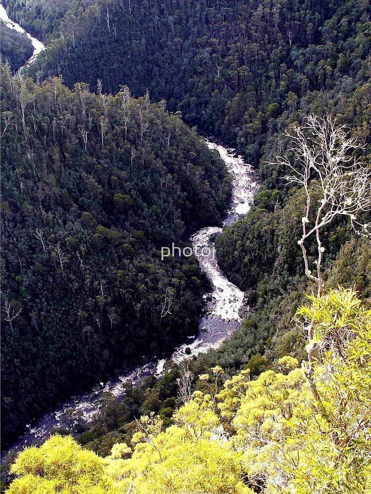 photoj Tasmania, Leven Can by photoj