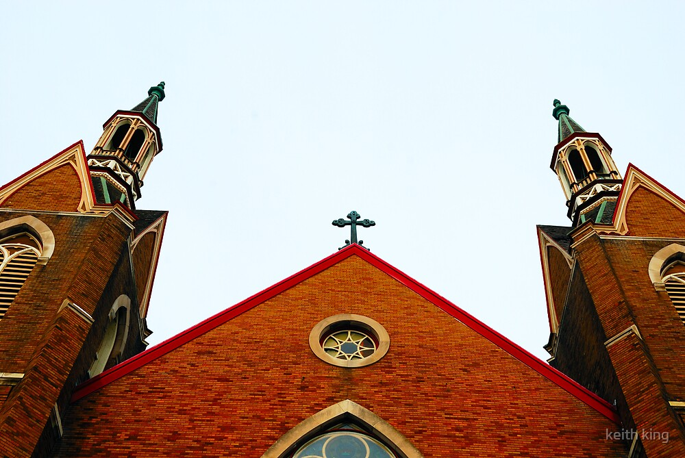 Church steeples by keith king