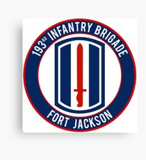 193rd Infantry Canvas Print