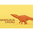 Pixel Amargasaurus by David Orr