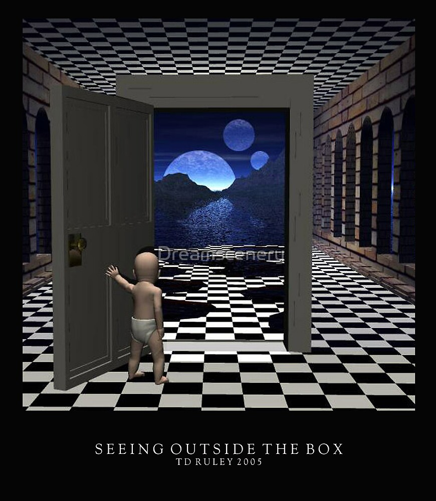 Seeing Outside the Box by Dreamscenery