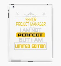 senior project manager iPad Case/Skin