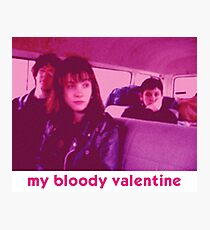 My Bloody Valentine - 'Shoegazing Out The Window' Photographic Print