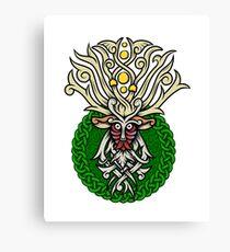 Celtic Forest Spirit Canvas Print