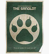 The Sandlot Alternative Minimalist Movie Poster Poster