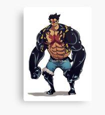 Luffy Canvas Print