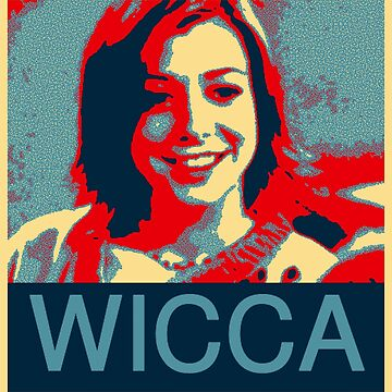 Buffy the Vampire Slayer - Willow - Obama Poster by HTWallace