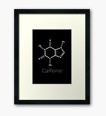 Caffeine. Framed Print