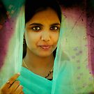 the girl in the green sari by handheld-films