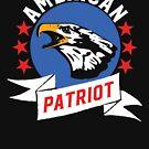 Amerikanischer Patriot - USA Eagle von GroatsworthTees