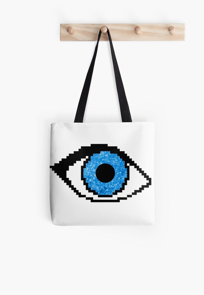 Pixel Glitter Eye by ElliSchnee