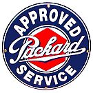 PACKARD SERVICE SIGN by Thomas Barker-Detwiler