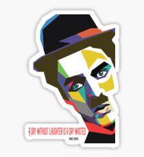 Ltd Edition:Charlie Chaplin Quotes  Sticker
