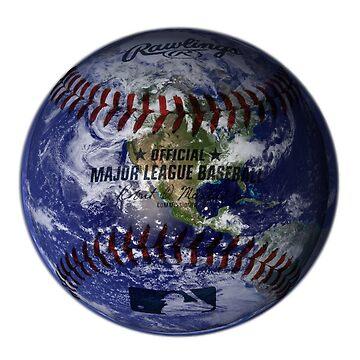 Baseball Globe by Iaccol