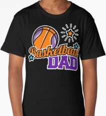 Basketball Dad Long T-Shirt