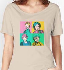 Golden Pop Art Women's Relaxed Fit T-Shirt