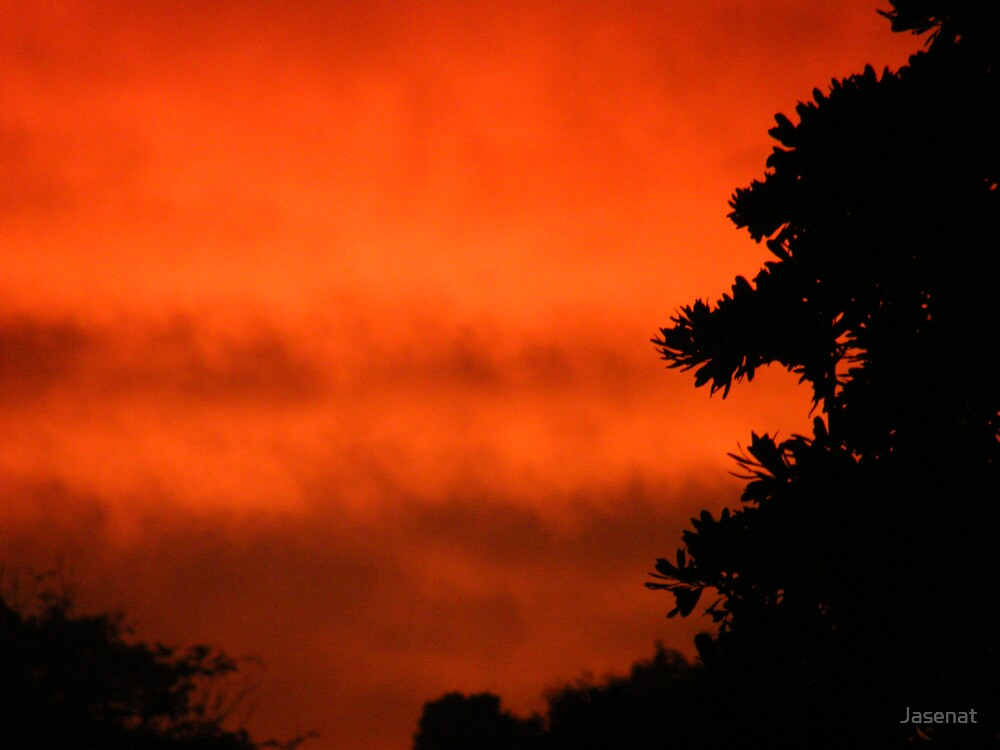 Red Sunset by Jasenat