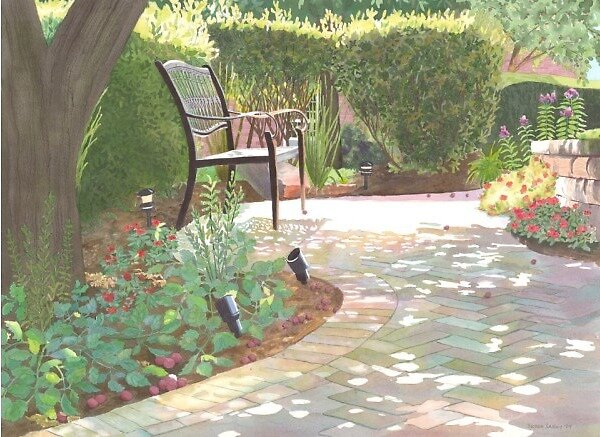 Peace Memorial Garden by Susan LeMay RN