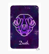 Death Tarot. Photographic Print