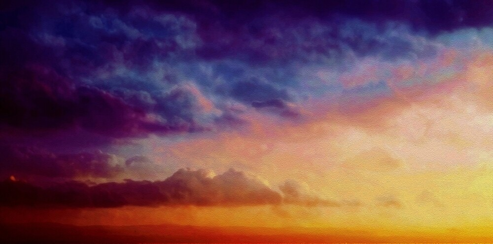Multicoloured skies by Aidie