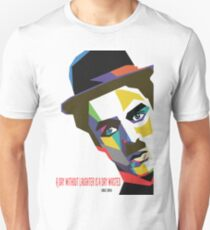 Ltd Edition:Charlie Chaplin Quotes  T-Shirt
