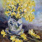 Suggestion of Daffodils by TerrillWelch
