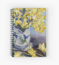 Suggestion of Daffodils Spiral Notebook