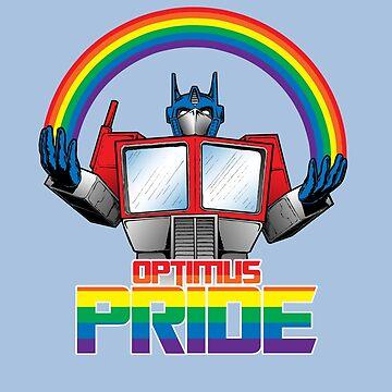 Optimus Pride by Kohrsfilms