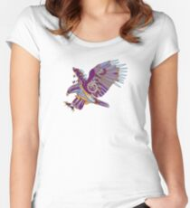 Eagle, from the AlphaPod collection Women's Fitted Scoop T-Shirt