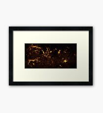 The Milky Way by Hubble Framed Print