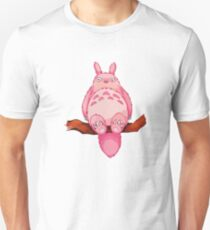 Pink my neighboor Totoro from Studio Ghibli Unisex T-Shirt