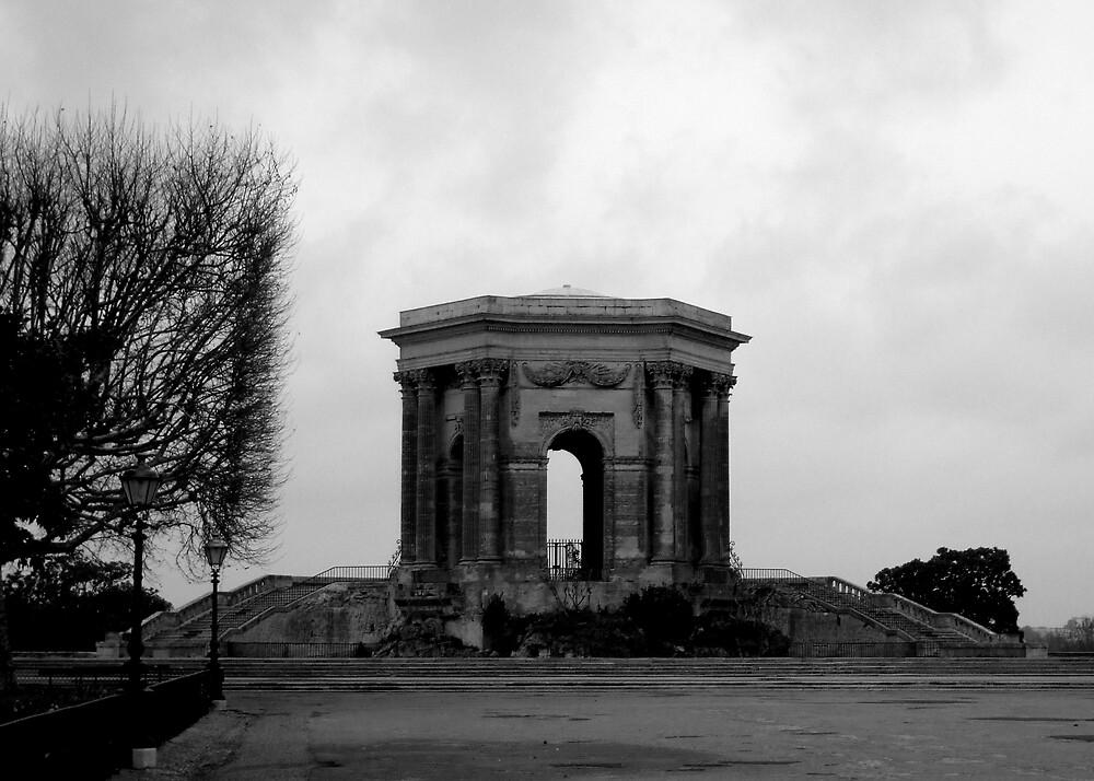 Grey day in Montpellier by EllenMaree