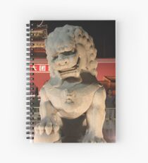 Forbidden City Guard Dragon  Spiral Notebook