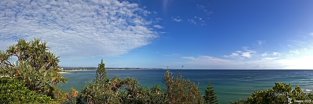 Looking out from Coolangatta by rossandcher
