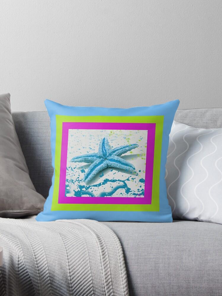 Paint Spattered Star Fish by Mechala Matthews