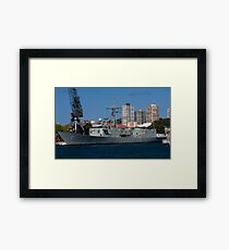 Naval Framed Print