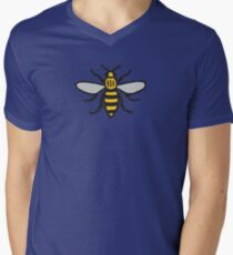 Manchester Bee, Classic Edition Men's V-Neck T-Shirt