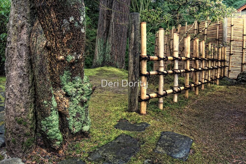 Japanese Gardens by Deri Dority