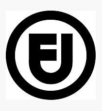 Fair use logo Photographic Print