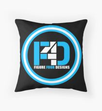 Figure Four Brand Throw Pillow