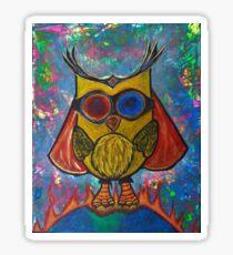 Fearless -Owl Sticker