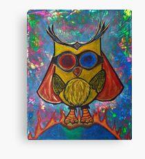 Fearless -Owl Canvas Print