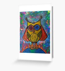 Fearless -Owl Greeting Card