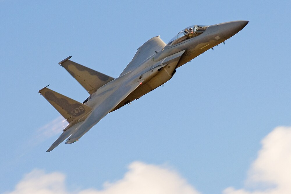 USAF F-15 by Nathan T