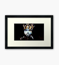 KING CUBE Framed Print
