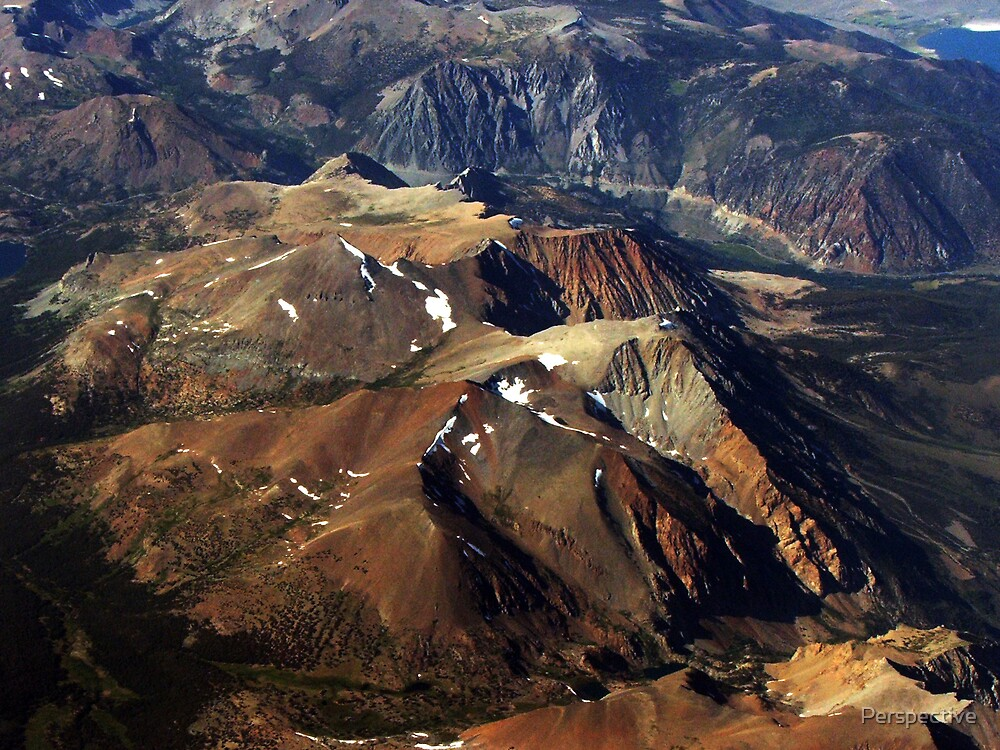 Mountains: A Bird's Eye View by Perspective