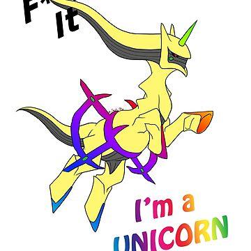 «shiny unicorn» par Omelia-Plude