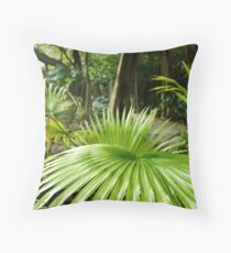 Southlands - Palm Throw Pillow